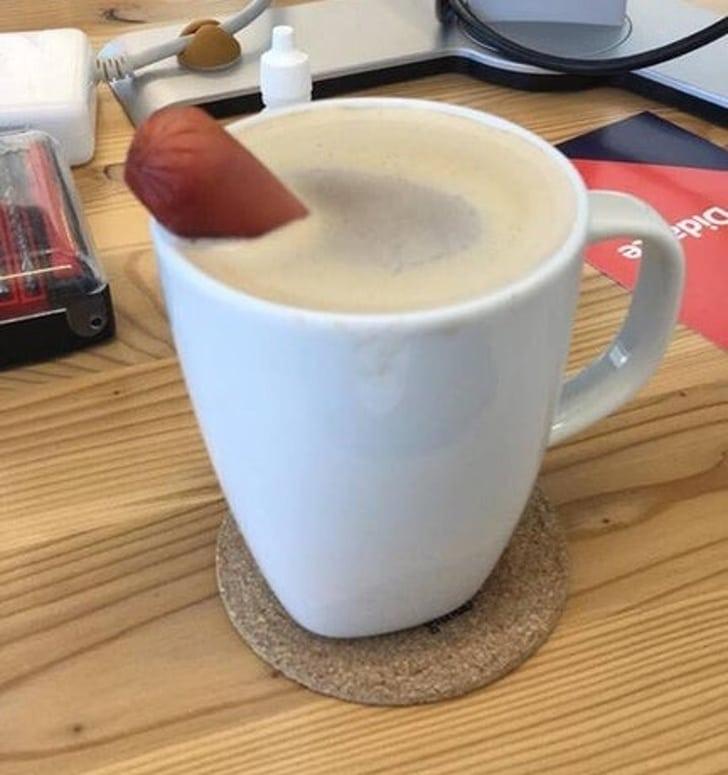 сосиска в кофе
