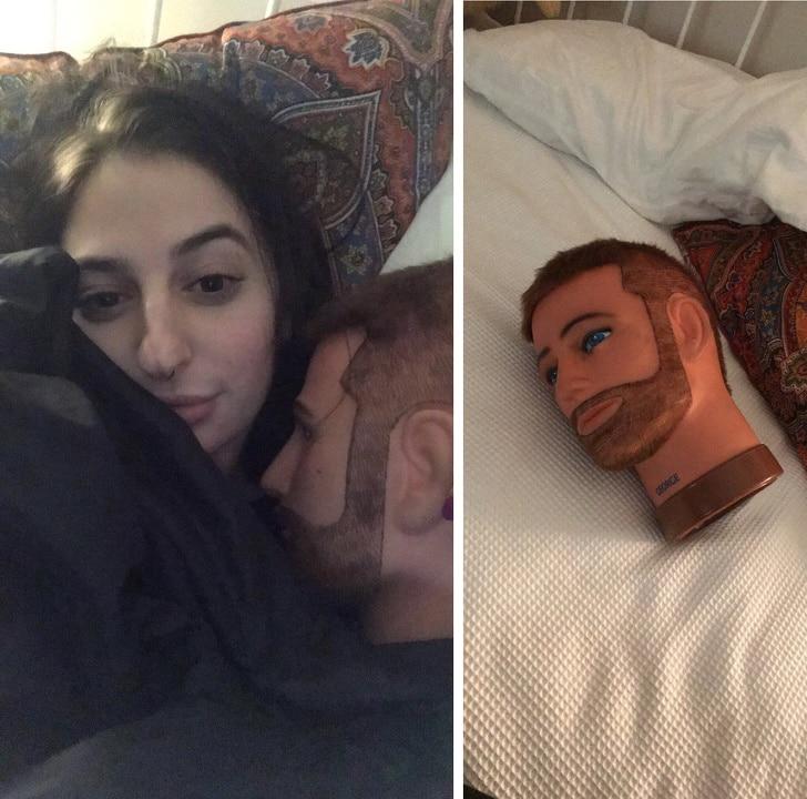 фото девушки в постели