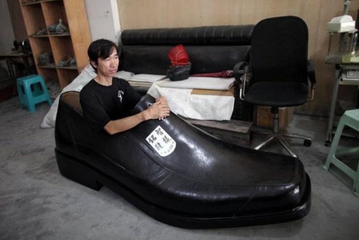 кровать в виде туфли