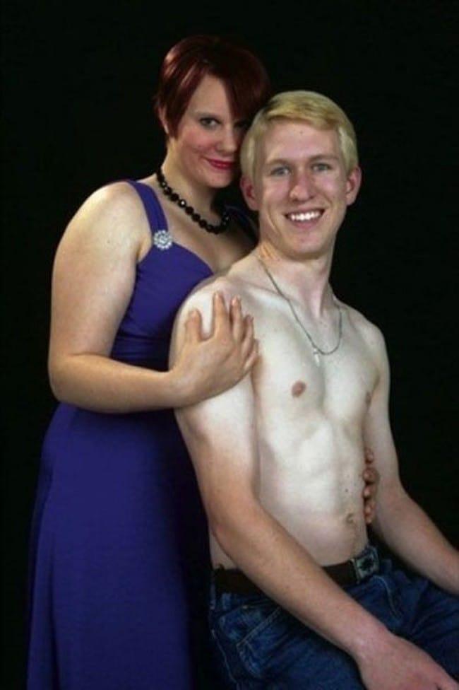 смешное общее фото парня и девушки