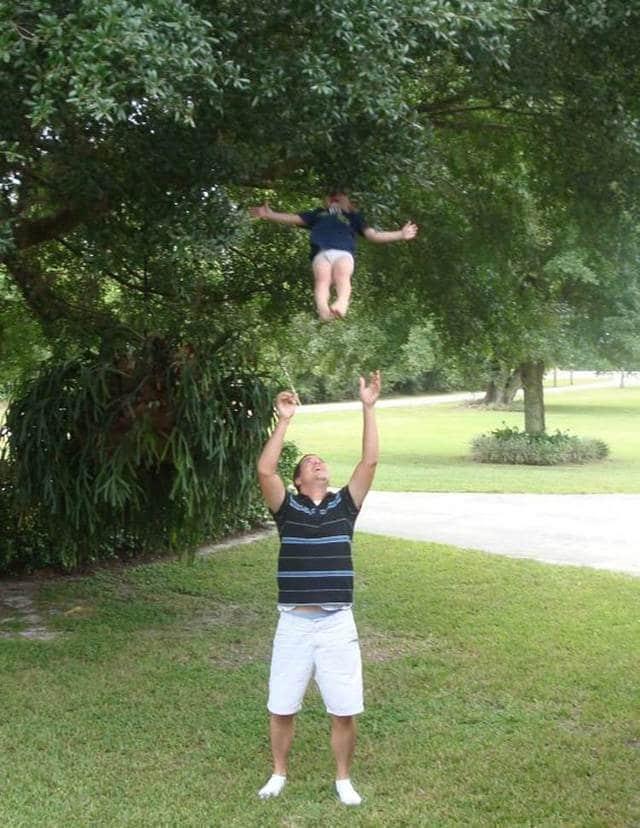 папа покидывает ребенка