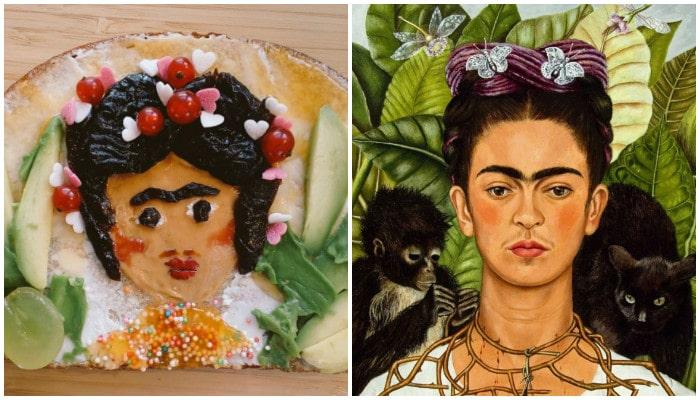 «Автопортрет с терновым ожерельем» Фрида Кало
