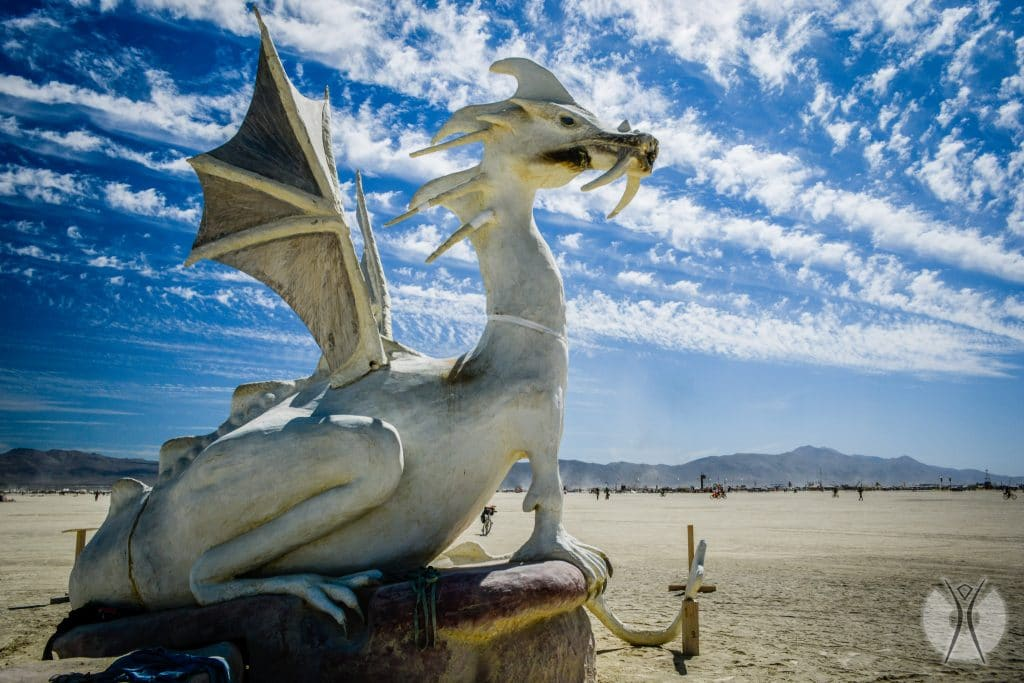 инсталляция на Burning Man