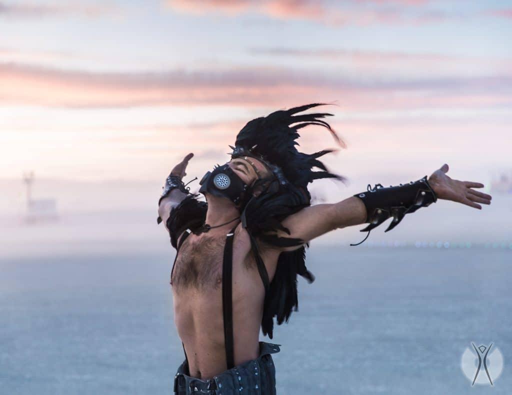 самовыражение на фестивале Burning Man