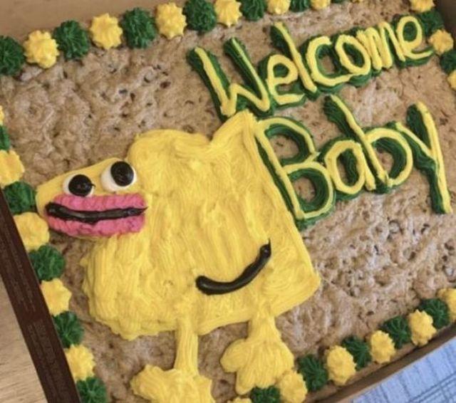 торт с очертанием животного