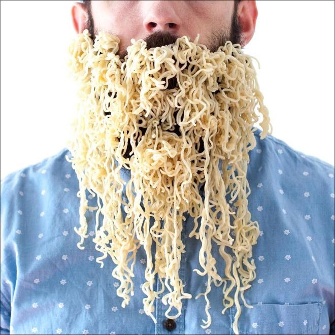 вермишель в бороде