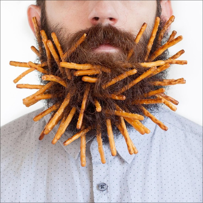 соломка в бороде