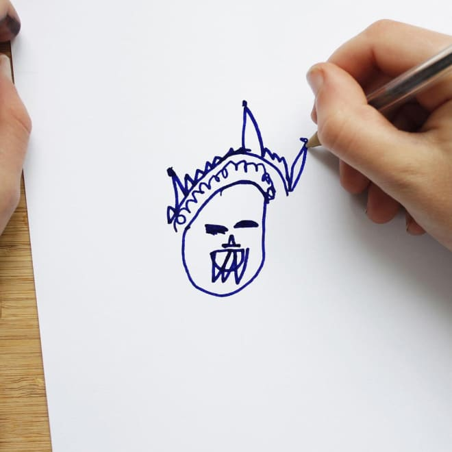 рисунок королевы елизаветы