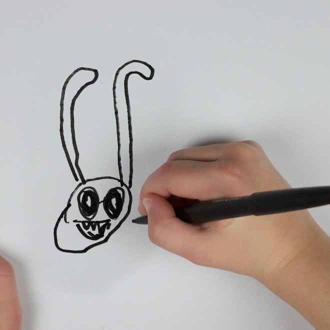 рисунок кролика