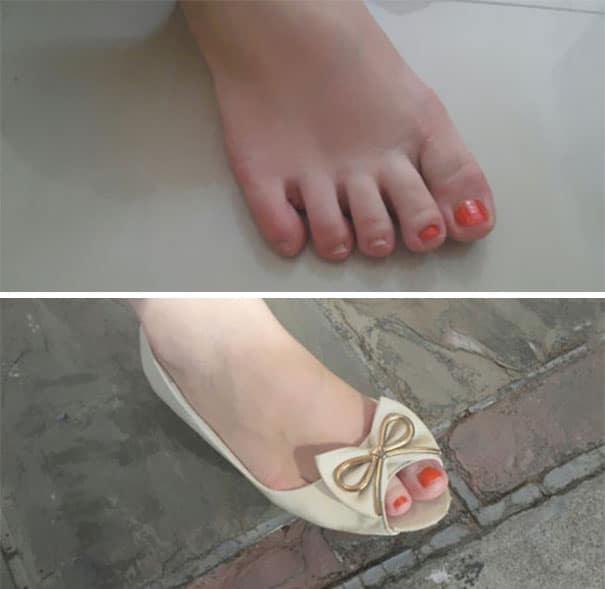 женская нога