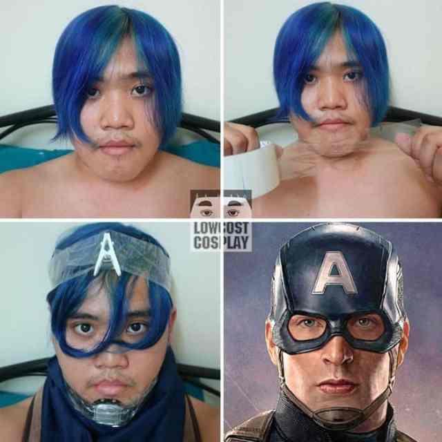 парень перевоплощается в супергероя