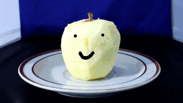 смешные гифки усыхающего яблока