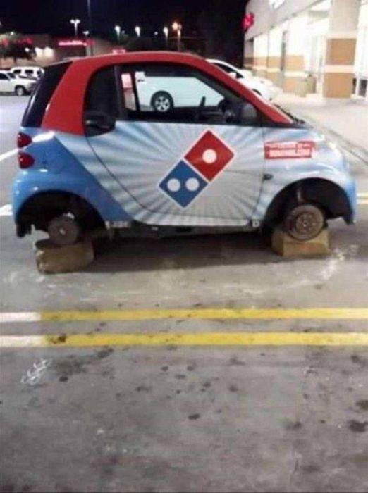 машина без колес