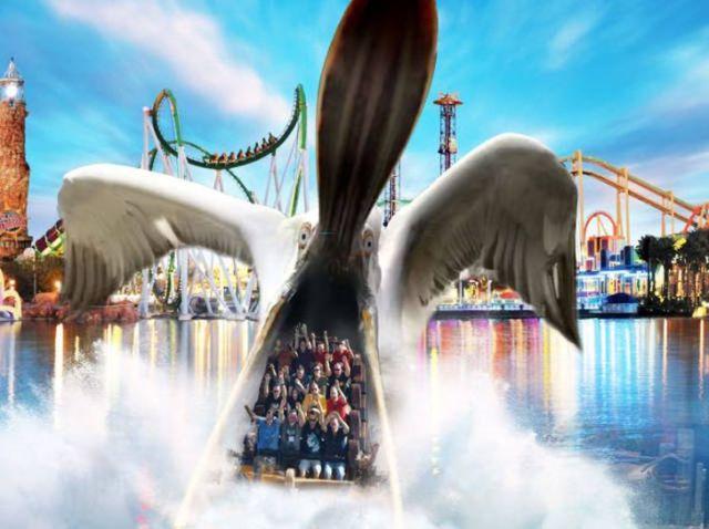 пеликан фотошоп