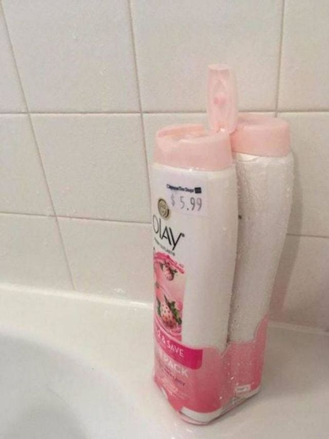 косметика в ванной комнате