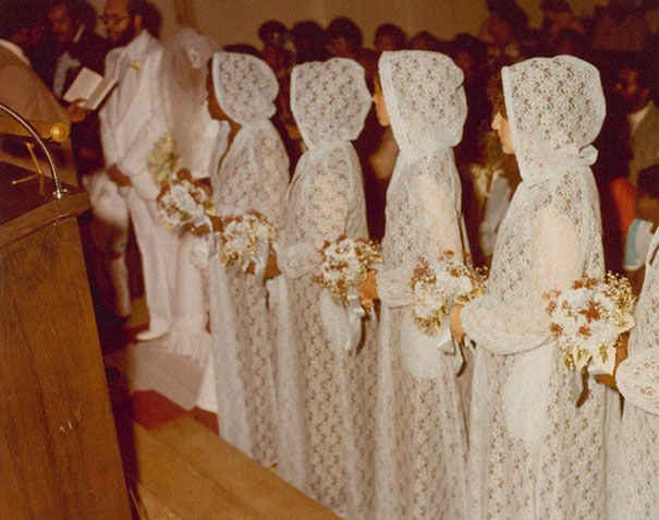 подружки невесты в странных нарядах