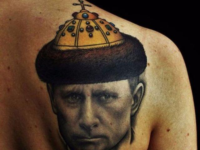 смешная татуировка
