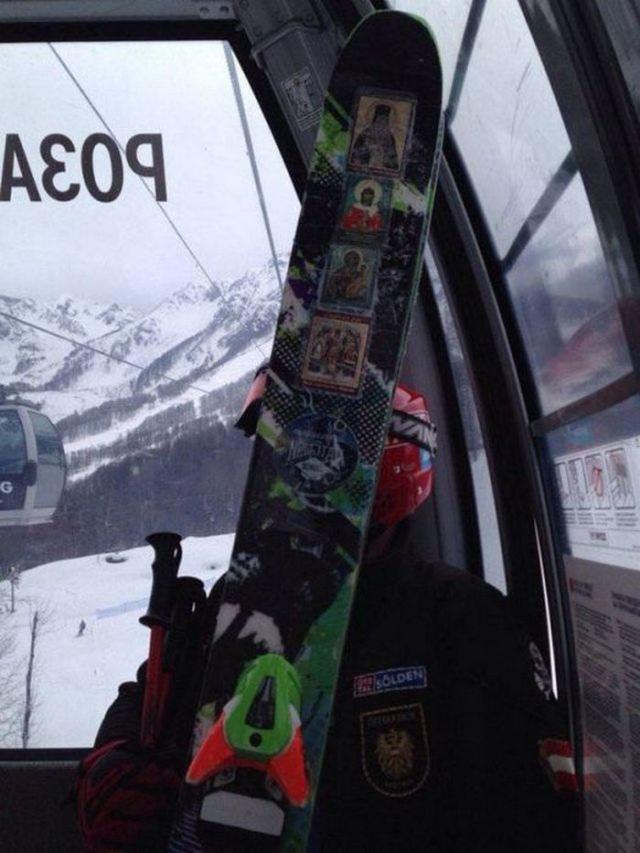 иконы на сноуборде