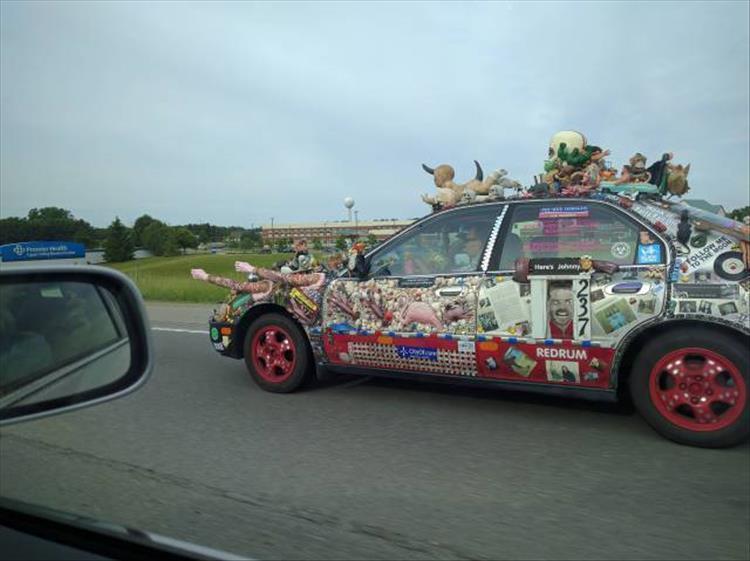 авто на дороге