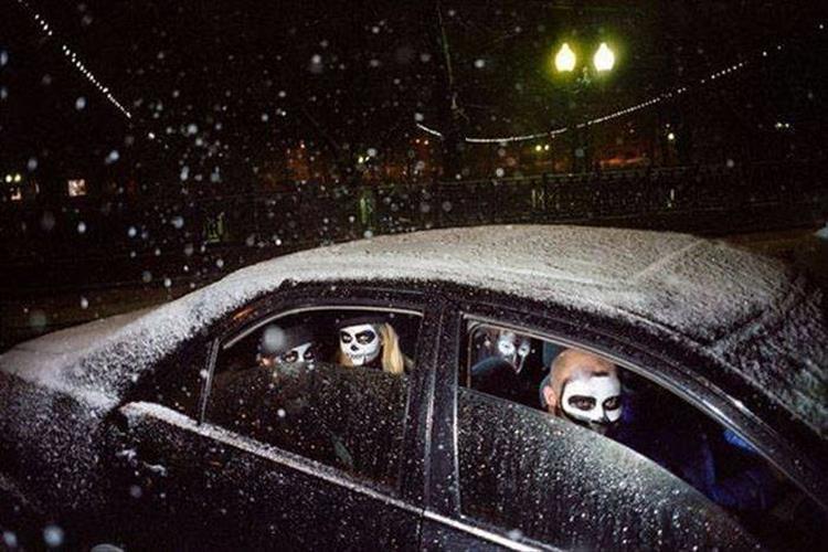люди в авто