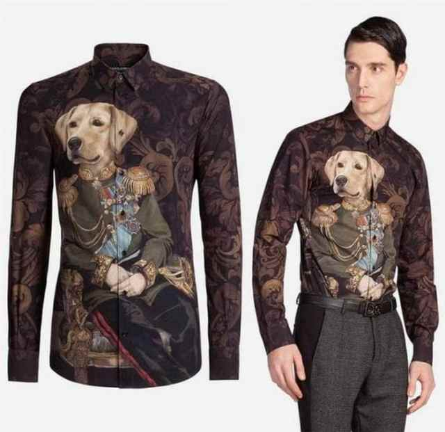 необычная мужская рубашка