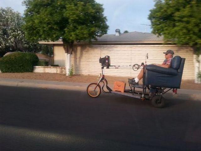 кресло на колесах
