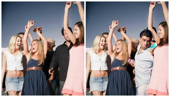 люди веселятся и танцуют