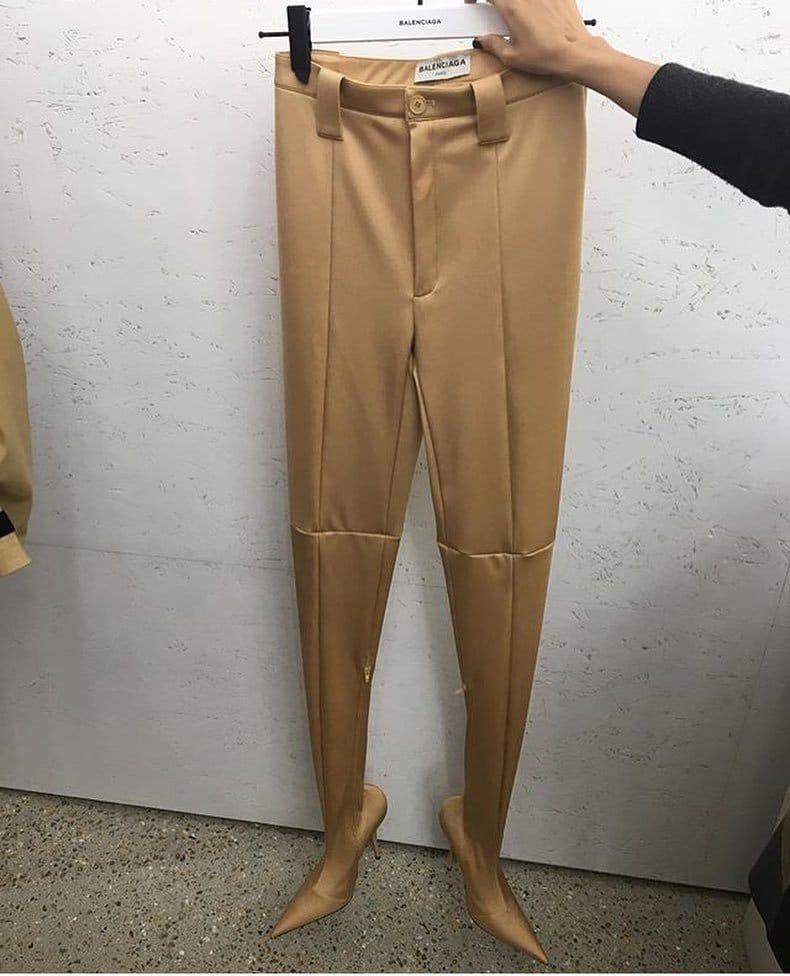 брюки с туфлями