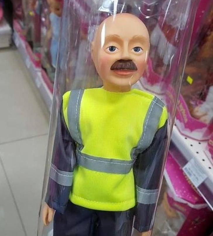 кукла с усами