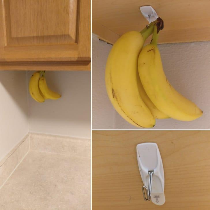 бананы на подставке