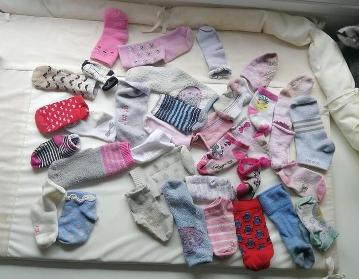много носков