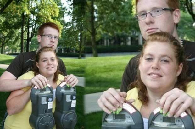 смешное фото пары