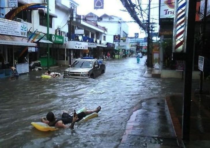 уличный потоп