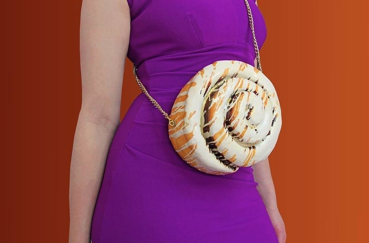 сумка в виде булочки