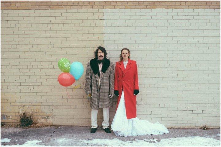 Эрин и Стив на улице