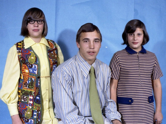 ретро-фото семьи
