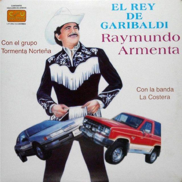 музыкальная обложка: ковбой с авто