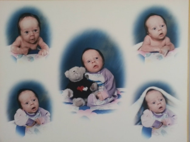 детский фотоальбом