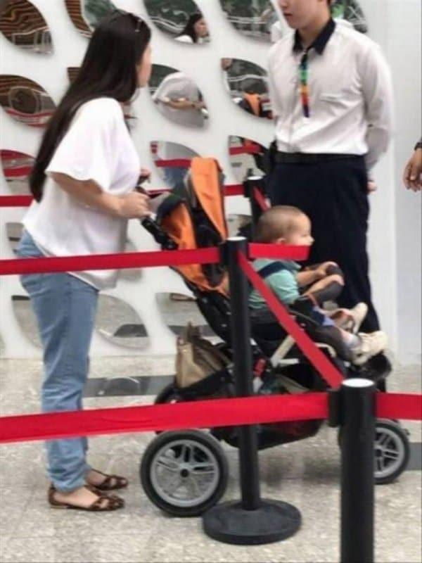 мама с коляской