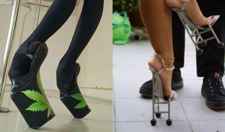 18 пар странной обуви, носить которую решится только безумный!