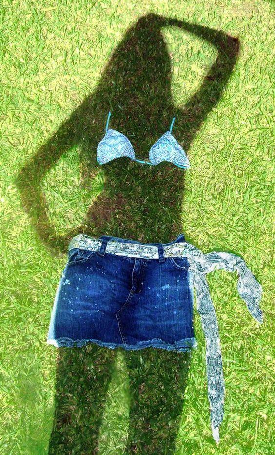 тень на траве