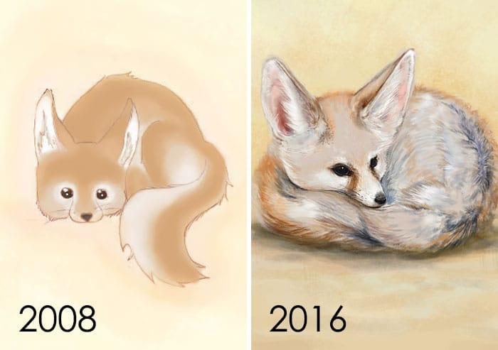 рисунок животного
