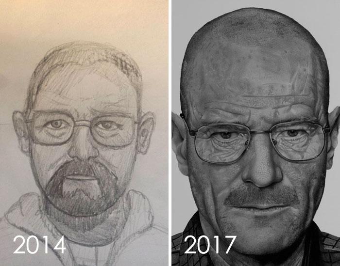 тогда и сейчас: портрет мужчины