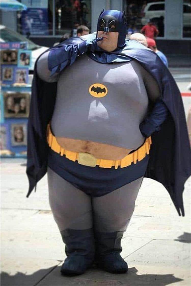 толстый бэтмен