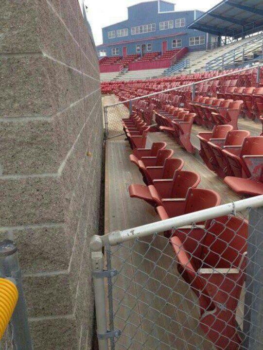 трибуна стадиона