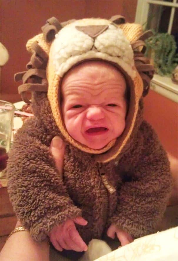 смешной младенец