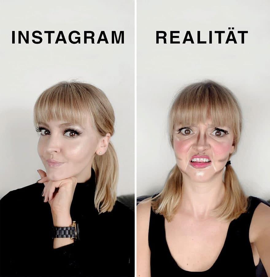 Инстаграм и жизнь: макияж