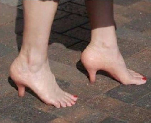 женские ноги фотошоп