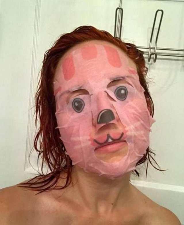 японская маска для лица
