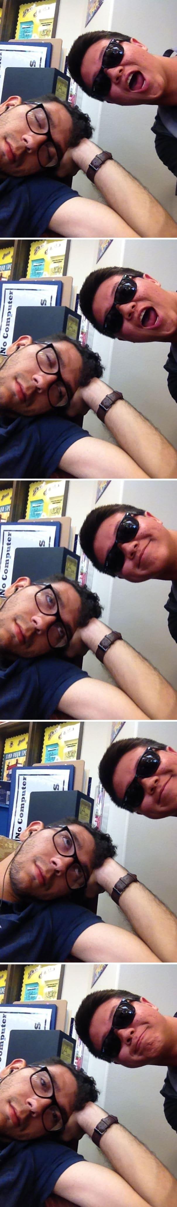 фото со спящим человеком